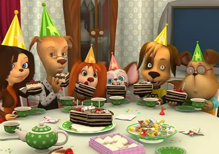 День рождения Барбоскины