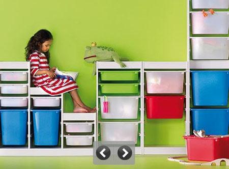 Хранение детских вещей