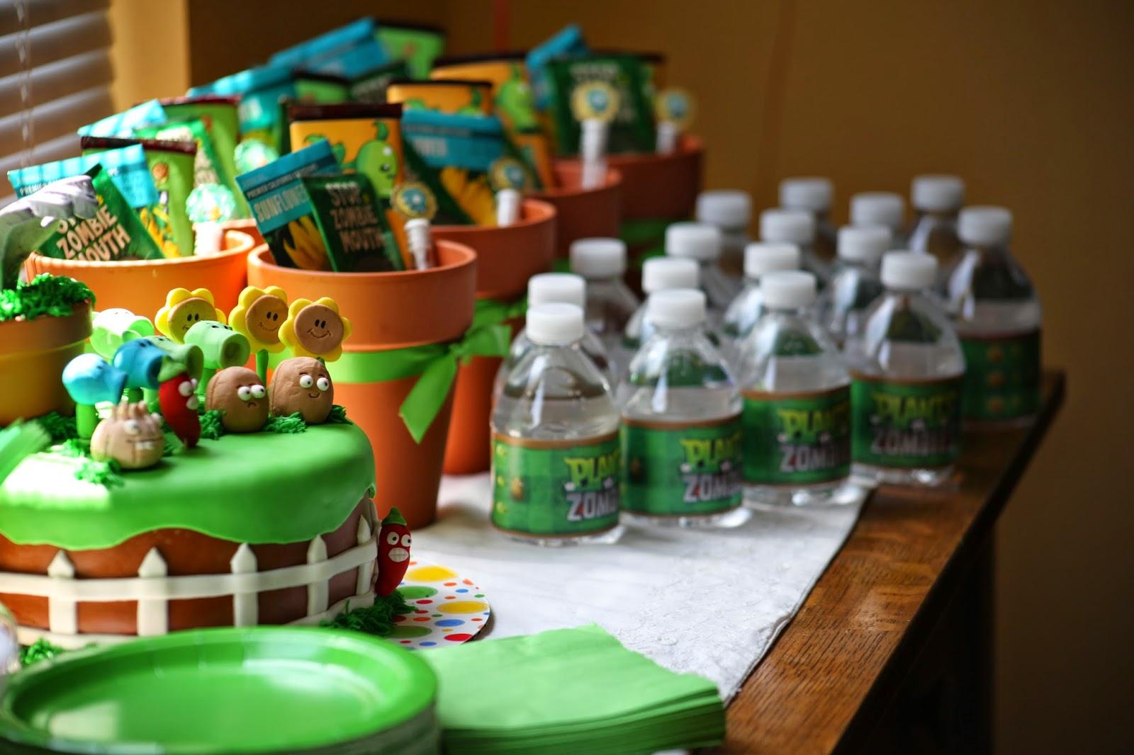 Детский праздник Растения против зомби